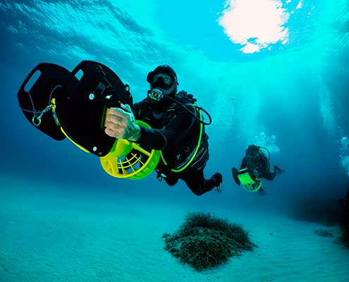 Skualo PADI Advanced Open Water Diver course in Mallorca